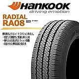 【 4本セット 】 145R12 6PR LT HANKOOK(ハンコック) Radial RA08 優れたブレーキ性能、グリップ、高い耐久性 ノーマル(普通)タイヤ * バン・小型トラック用