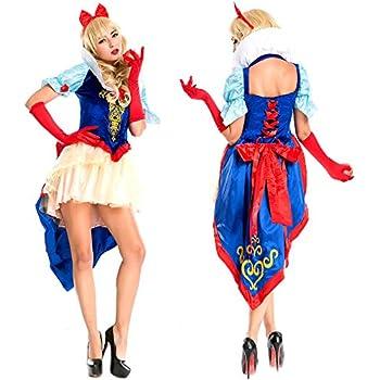 176d9b90bf3af ハロウィン・パーティー用衣装 白雪姫 プリンセス ハイグレード業務用コスチュームセット お姫様ドレス ハイ