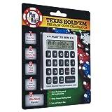 Trademark Texas Hold.em Pre-Flop Winning Odds Calculator (Red)
