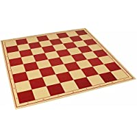 The Chess Store Premium Vinyl Rollup Chess Board Red - 2.25 Squares by The Chess Store [並行輸入品]