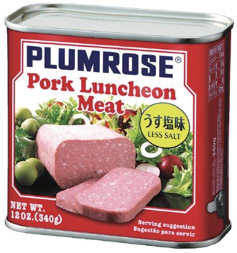 プラムローズ ポークランチョンミート うす塩味 340g