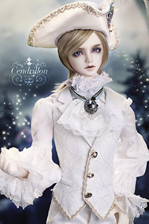 ASDOLL bjdドール服 ドール衣装 70+サイズ古式貴族礼服「白馬の王子」 男bjd人形衣装 球体関節人形衣装