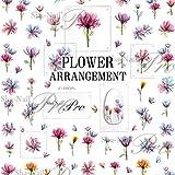 写ネイル ネイルシール Sha-NailPro FLOWER ARRANGEMENT FAR-001