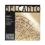 Belcanto ベルカント チェロ弦 D線 スチールコア 4/4 クロム BC27