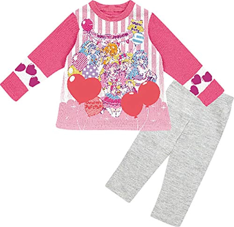 (バンダイ) BANDAI Hugっと プリキュア カラチェンパジャマ 子供用 女の子 パジャマ 長袖 【2434928】