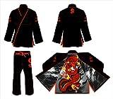 Koスポーツギア's Magic Dragon Hemp GI–BJJ着物とパンツ–For Jiu Jitsu