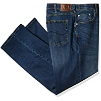 Lee Mens 21028 Big-Tall Modern Series Custom-fit Relaxed Straight-Leg Jean Jeans - Blue