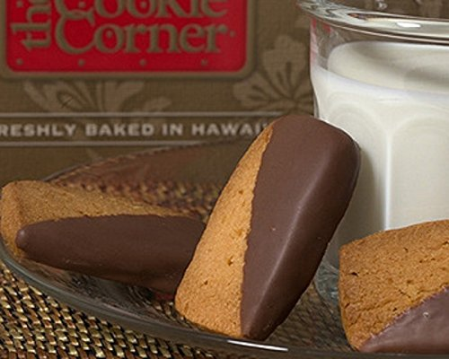 【Cookie Corner】 ハワイアン マカダミアナッツ ショートブレッド ミルクチョコレート 8枚入 並行輸入品