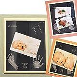 出産祝い 名入れ 手形 赤ちゃん 星の約束 メモリアル フォトフレーム 写真立て 足形 プレゼント ギフト 記念日