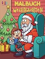 Weihnachten Malbuch Jungs: Christmas Coloring Book for Boys & Girls