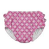 アイプレイ iplay オムツ機能付 水遊び用パンツ スイムダイパー スイミングパンツ 女の子 3T:3歳 Hot Pink Diamond Flower