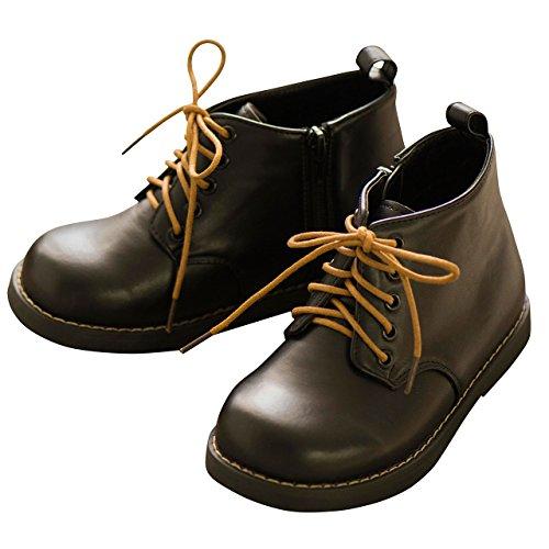 (キャサリンコテージ) Catherine Cottage子供服 TKSSA00 靴紐2種付属 男女兼用 ワークブーツ 19cm 黒