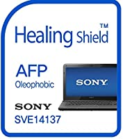 Healingshield スキンシール液晶保護フィルム Oleophobic AFP Clear Film for Sony Laptop Vaio SVE14137