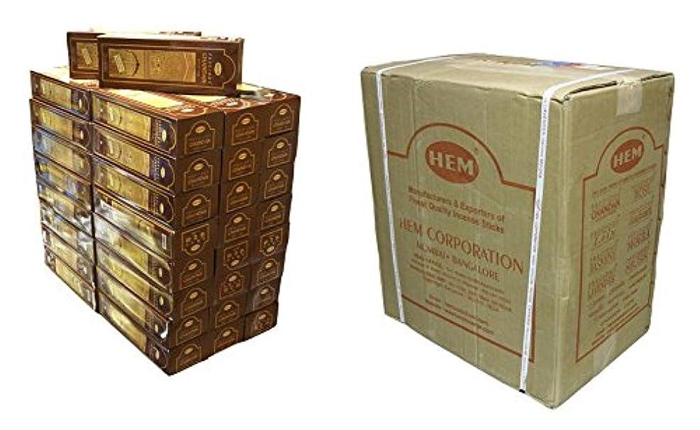 貝殻剃る準備するHEM(ヘム) チャンダン香 スティック CHANDAN 6角 300箱セット