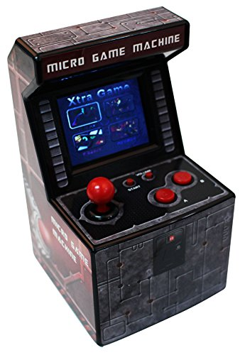 Snappi 私の アーケード レトロ マシン(TOY) 240内蔵の ビデオ ゲーム ハンドヘルド ゲームシステム シリーズ My Arcade Retro Machine Gaming System with 240 Built-in Video Games series IV (Darkred-4) [並行輸入品]
