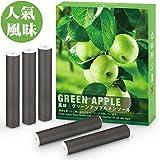 【大人気風味 グリーンアップル味】 MEICENT® プルームテック 互換 カートリッジ 5個入