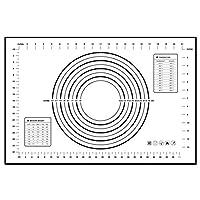 シリコンベーキングマットピザ生地メーカーペストリーキッチンガジェットクッキングツール食器ベークウェアアクセサリーグッズStuff Products:Black