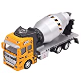 Aubig Thitpon 子供 おもちゃの車 ハイアライ 工事車 模型 コンクリート車