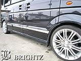 BRIGHTZ エブリイワゴン DA64W 超鏡面ステンレスメッキサイドドアモール 【 IND-23-JAN 】 DA DA64 A64 64 ワゴン エブリ エブリィ エブリイ エブリー エブリィー エブリイー18911