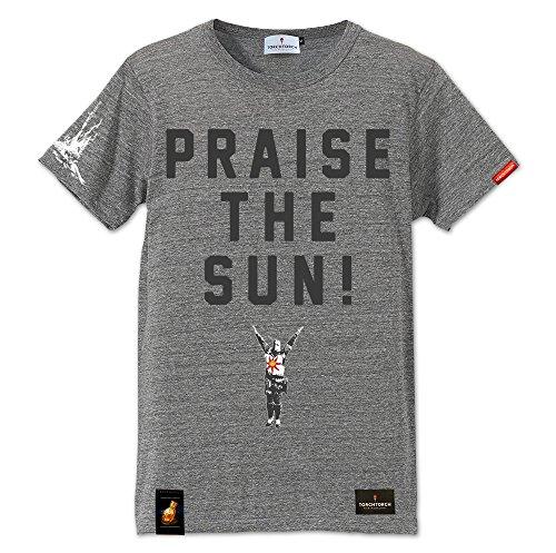 ダークソウル × TORCH TORCH/ 太陽の戦士ソラールのTシャツ: ヘザーグレー Sサイズの詳細を見る
