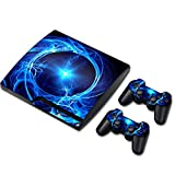 Zhhlaixing PlayStation3 Creative Ultra-thin ステッカー+2 Controller for ファンシー Skin Coverage Stickers PS3 TN0331*