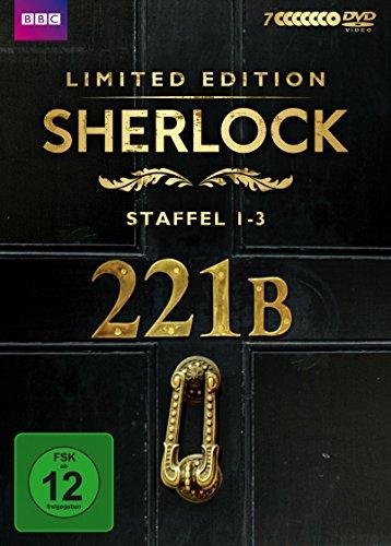 [限定版:ディスク7枚+ブックレット]SHERLOCK シャーロック シーズン1-3コンプリートセット[ドイツ版][PAL] [DVD][Import]