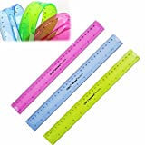 """Generic 12 30Cm Super Flexible Ruler Rule Measuring Tool Stationery For Office School"""""""