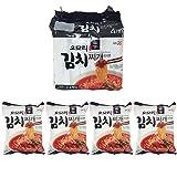 [八道/Paldo] GS25 オオモリ キムチチゲ ラーメン 4袋入 / 韓国食品 / 韓国ラーメン (海外直送)
