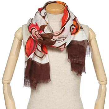 Linen Scarf 1351868: Brown