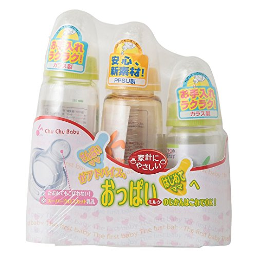 西松屋 [EFD] Chu Chu baby哺乳瓶3本セット