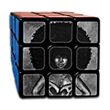 Wppz wild-curl Up Afroルービックキューブ3dプリント3?x 3?x 3マジック正方形パズルゲームポータブルtoys-anti応力anti-anxiety大人子供用