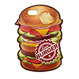 サンクレスト Characters iPhone7/6s/6 4.7インチ 対応 バックカバー アメリカンデリシリーズ バーガー iP7-CH04