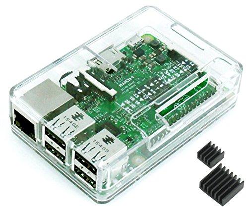Raspberry Pi3 Model B ボード&ケースセット (Element14版, Clear)-Physical Computing Lab