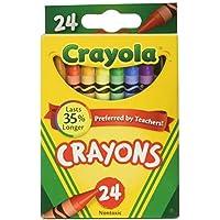 (クレヨラ) Crayola クレヨン24色6箱セット 計144本