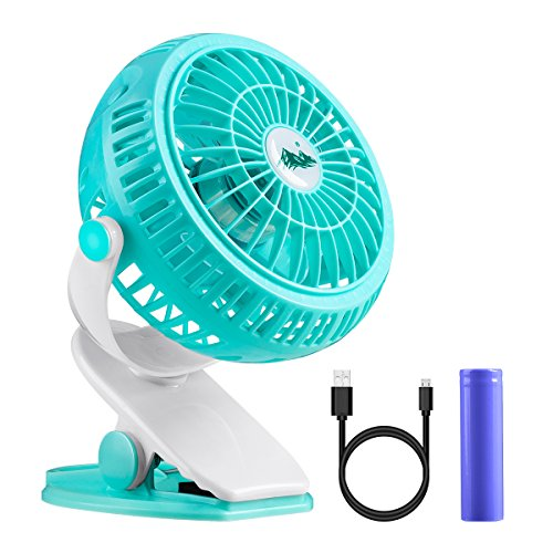 クリップ 扇風機 POTEK USB扇風機 卓上 クリップ式...