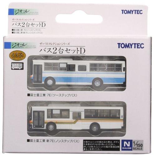 バスコレ2台セットD 富士重工業7E・新7E