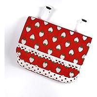 (レイラバッグストア) Layla bag store 移動ポケット 赤いちご