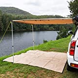 Kings 4WD Car Awning 2x3m LED Strip Light Mounting Kit Shades Flexible UPF50+