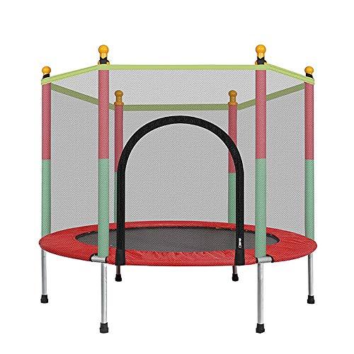 55インチトランポリン家庭の子供屋内防護ネット付きのジャンプ...