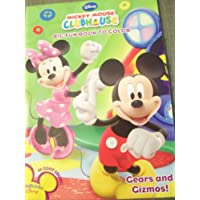 Disney Mickey Mouse Clubhouse Big Fun Book to Colour Gears and Gizmos
