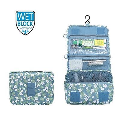 2018 New Hanging Toiletry Bag Bathroom Organizer Travel Nylon Portable Cosmetic Bag for Women and Men