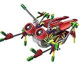 Alien Toys for Kids/Robotic Building Set/Battery Powered Robotic Kits/3d Puzzles for Kids, 122 Parts (Cicada)) [並行輸入品]