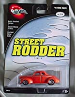 Hot Wheels 100% Street Rodder Series 1/4 '40 Ford Coupe ORANGE [並行輸入品]