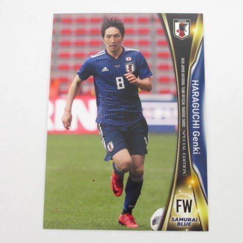 2018サッカー日本代表■レギュラーカード■22/原口元気 ≪スペシャルエディション≫