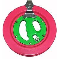 本格 カイト/凧揚げ カラー糸巻きリール 凧糸 ベアリング式スイベル 収納袋  4点セット (22cm)