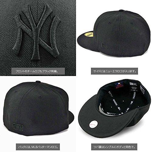 NEW ERA ニューエラ NEWERA CAP YANKEES(MLB)ALL BLACK 11121633 ニューエラ キャップ ヤンキース オールブラック (7 5/8 (60.6cm))