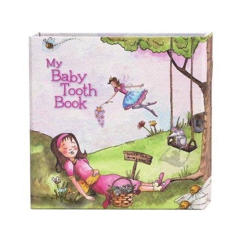 Baby Tooth Book 乳歯ケースブック bta0004 (Pink ラッピング/ピンク)