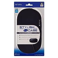 【PlayStationオフィシャルライセンス商品】PSVita専用収納ポーチ『スタイリッシュスリムケース (ブラック) 』for PlayStation Vita