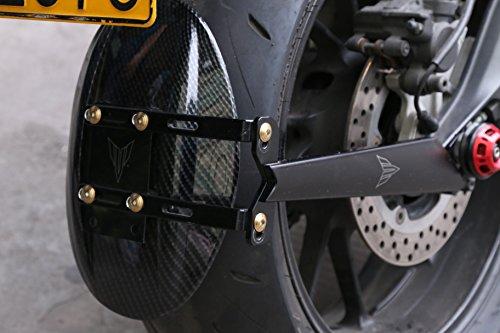 ヤマハ用 MT-09 トレーサー XSR900 カーボン リアフェンダー マッドガード 泥除け 石除け 水除け 雪除け リア マッドガード
