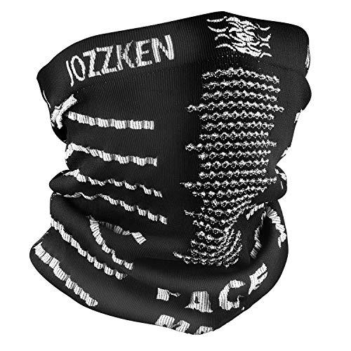 Jozzken 2018 ネックウォーマー フリーサイズ 秋冬 防寒 防風 多機能 男女兼用 バイク 登山 スポーツ 速乾 ...